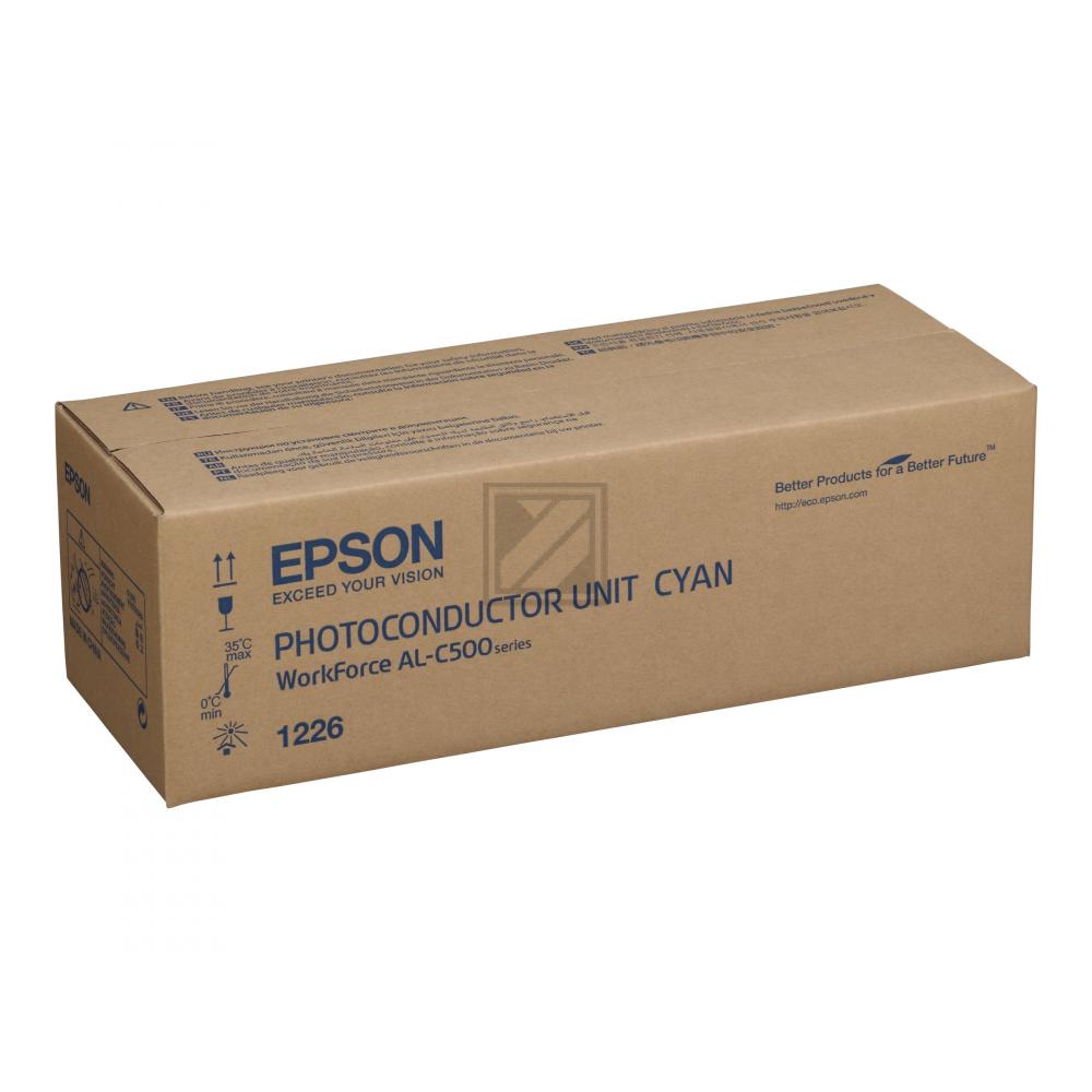 EPSON ALC500DN Fotoleitereinheit cyan Standardkap / C13S051226