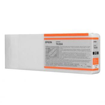 C13T636A00 // orange // original // Tinte f. Epson / C13T636A00