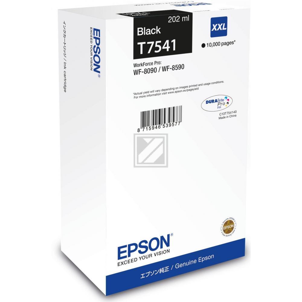T7541 (C 13 T 754140) / original / Tinte black / C13T754140