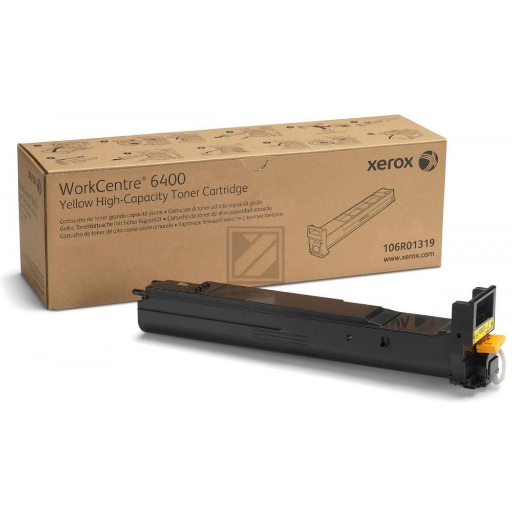106R01319 //Yellow // original // Toner f. Xerox / 106R01319 / 16.500 Seiten