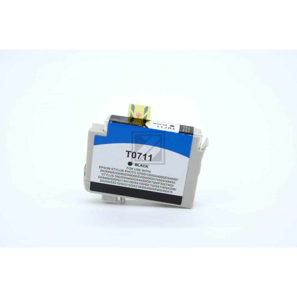Alternativ Tinte Black für Epson / C13T07114010 / 13ml