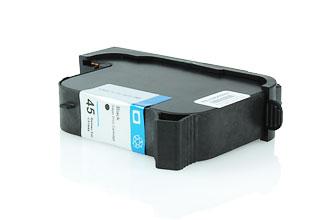 BULK 45A Alternativ Tinte Black für HP / 51645A / 42ml
