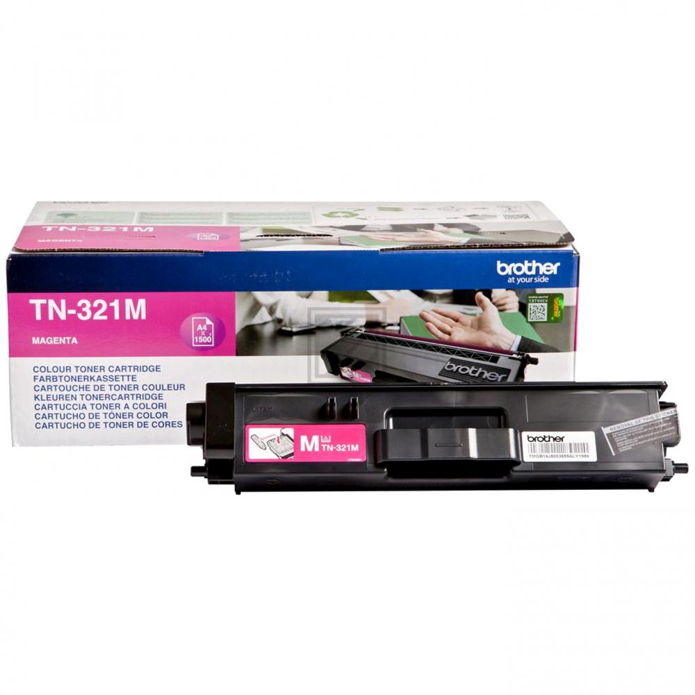 TN321M Original Toner Magenta für Brother / TN321M / 1.500 Seiten