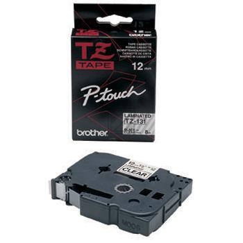 TZE131 //BK on Clear // original // Beschriftung / TZE131