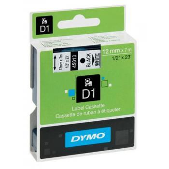45013 // S0720530 // Dymo Schriftband 12mm, schwar / 45013 // S0720530