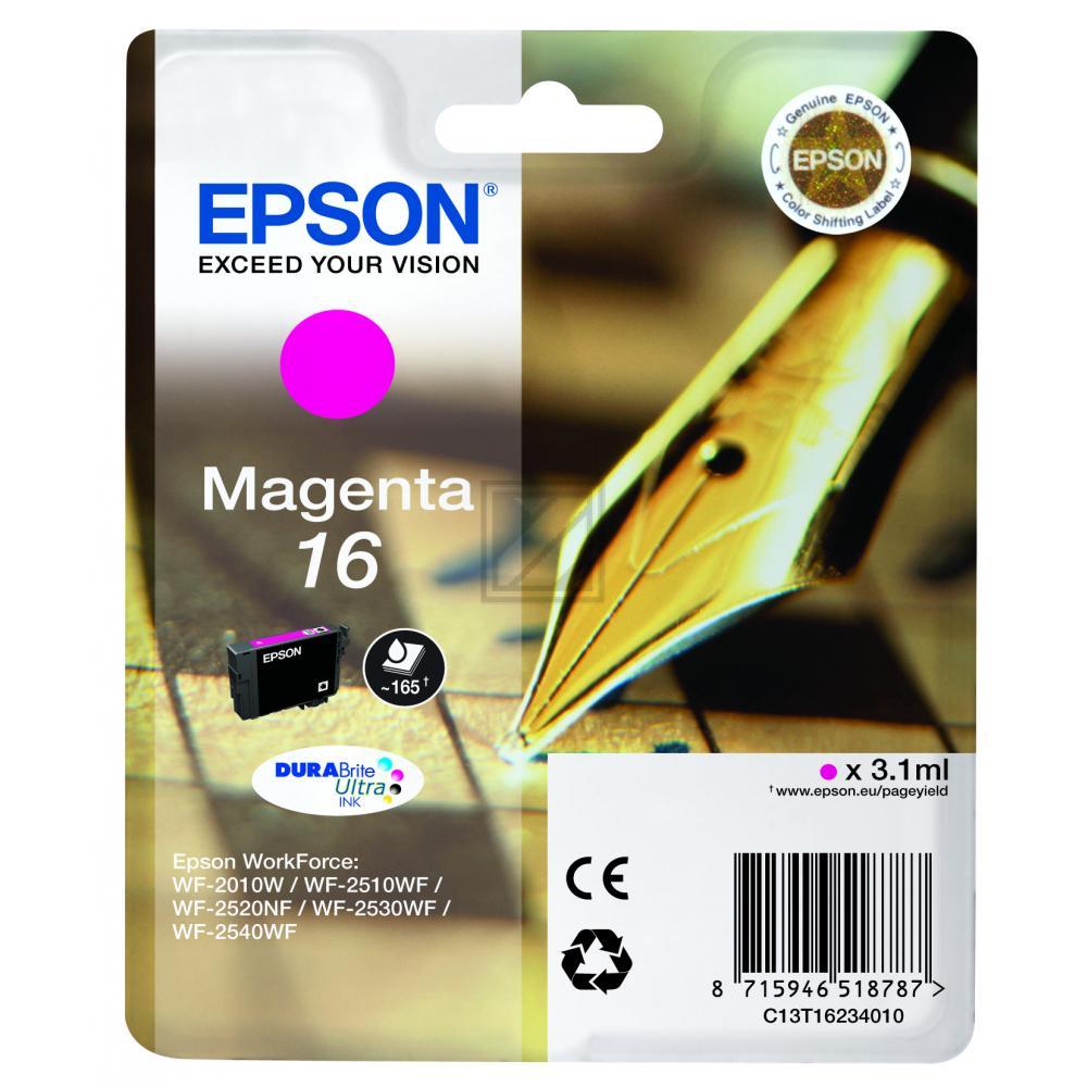 C13T16234012 / Nr.16M Original Tinte Magenta für E / C13T16234012 / 3,1ml