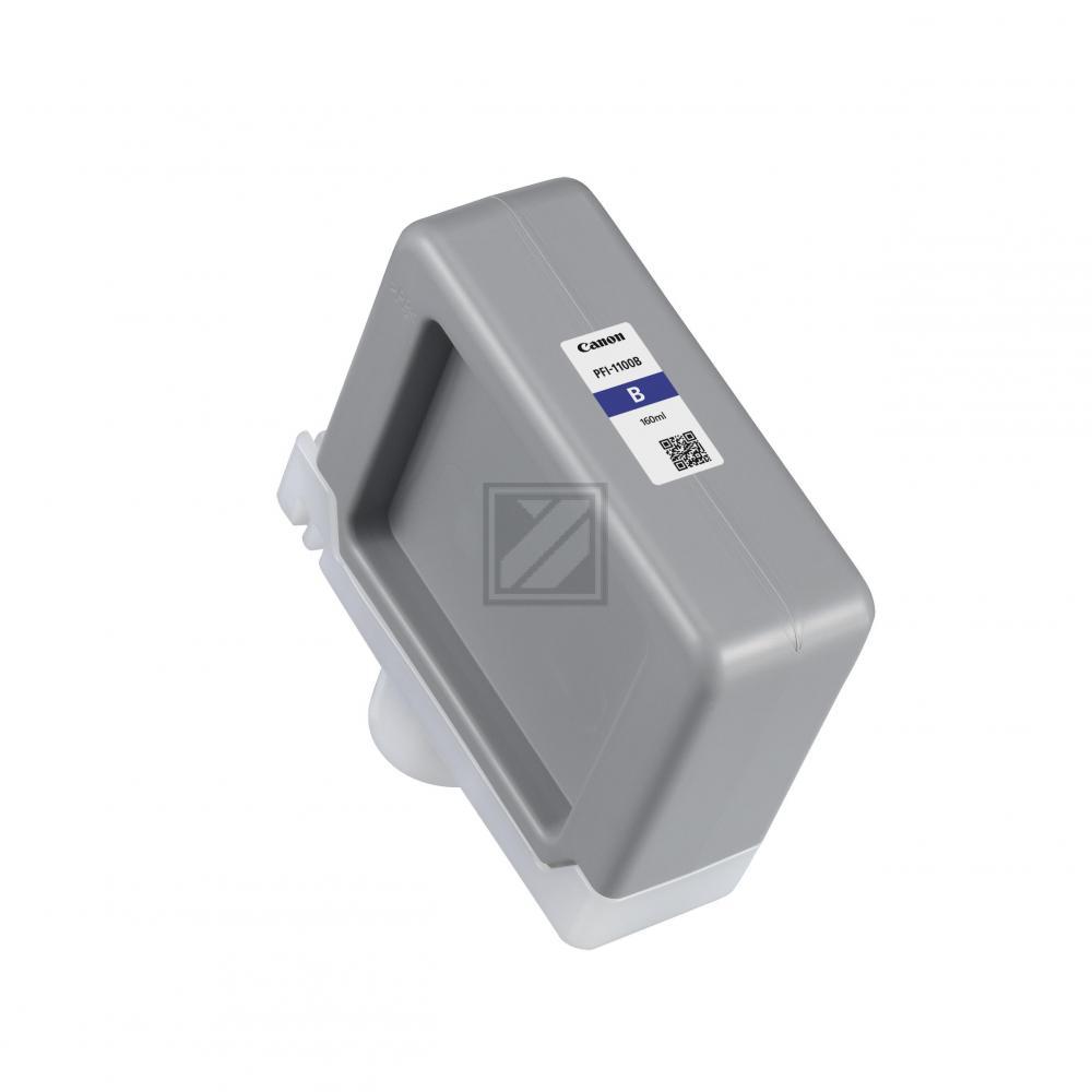CANON PFI1100 Tinte blau Standardkapazität 160ml  / 0859C001AA
