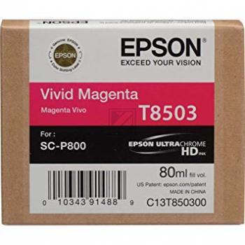 T8503 (C 13 T 850300) / original / Tinte magenta / C13T850300