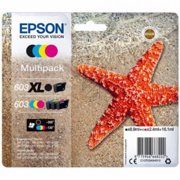 EPSON Multipack 4colours 603 XL Black/Std. CMY / C13T03A94010