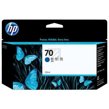 Nr.70 // C9458A// Blue // original // Tinte f. HP / C9458A