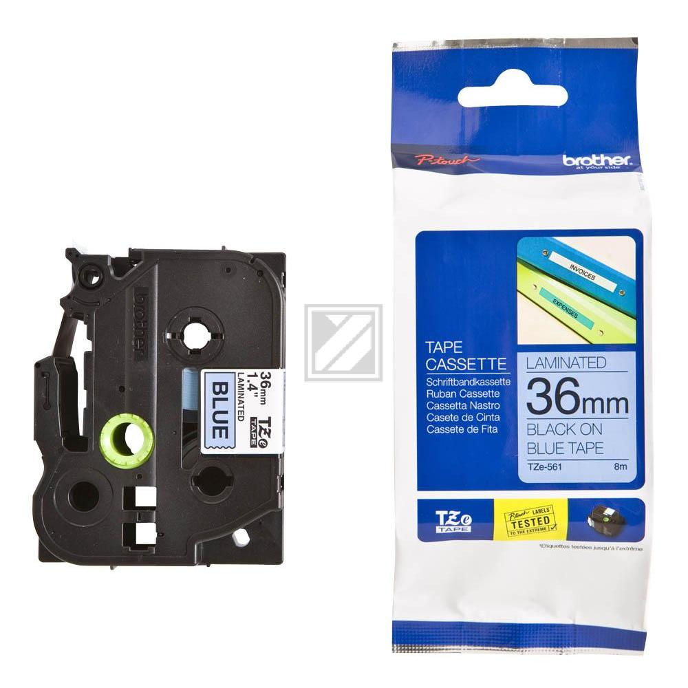 TZE561 / original / Farbband black blue / TZE561