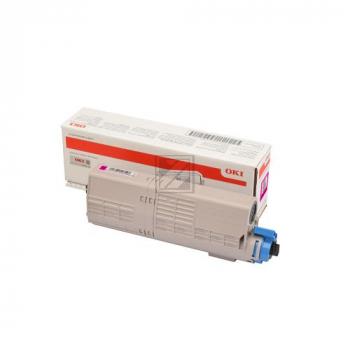 Original Toner 46490606 Magenta für OKI MC573DN / 46490606 // 6.000 Seiten