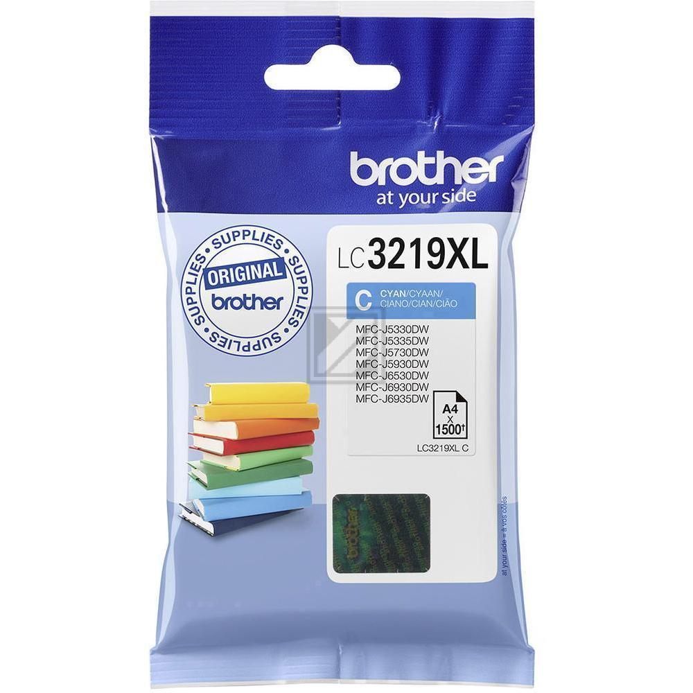LC3219XLC Original Tinte Cyan für Brother  / LC3219XLC / 1.500 Seiten